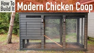 How to Build a Modern Chicken Coop
