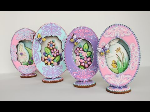 How to Make 3-D Fabergé Egg Cookies