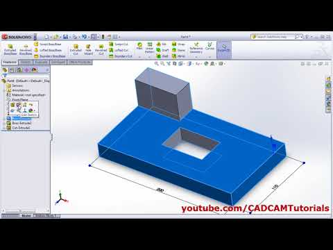 SolidWorks Basics Tutorial for Beginners - 4 | Learn SolidWorks ...
