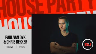 Paul van Dyk b2b Chris Bekker - Live @ DJ Mag x PC Music Night, Anomalie Art Club Berlin 2020