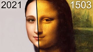 how MONA LISA would look TODAY