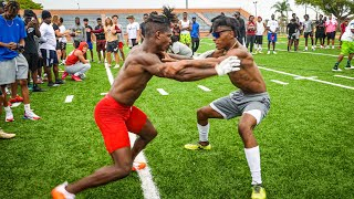 THE BEST ATHLETES IN FLORIDA WENT CRAZY DURING 1ON1'S!! (WINNER GETS $1000)