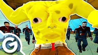 ZOMBIE RAID ON THE KRUSTY KRAB?! | Garry's Mod Spongebob vs Zombies