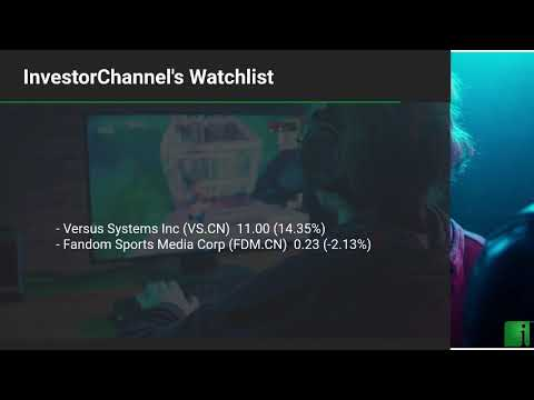 InvestorChannel's Esports Watchlist Update for Monday, Jan ... Thumbnail