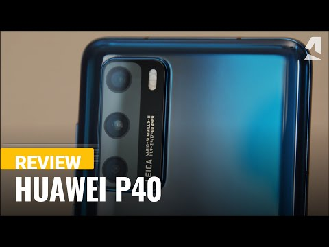 External Review Video LlD40WICs6w for Huawei P40 Series Smartphones P40, P40 Pro, P40 Pro+