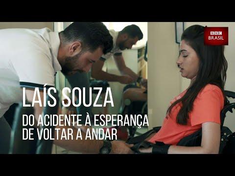 Laís Souza: do acidente à esperança de voltar a andar
