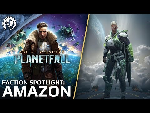 Age of Wonders: Planetfall - Gameplay Faction Spotlight: Amazon thumbnail