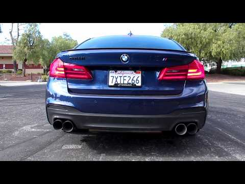 Dinan M550i Free Flow Exhaust Sound Clip
