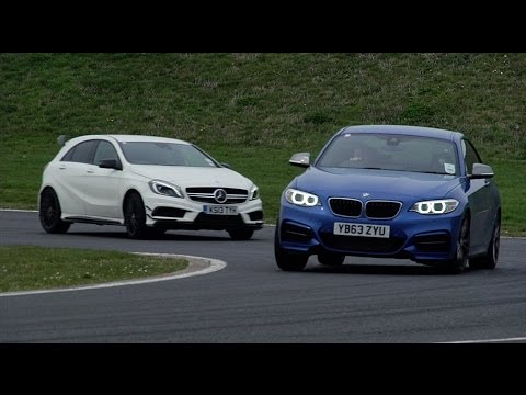 Mercedes A45 AMG vs. BMW M235i - which is the best driver's car?