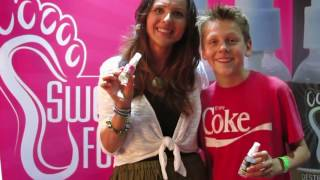 Sweet Feet Spray Mothers Day Celebrity Event