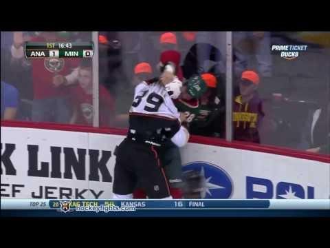 Zenon Konopka vs. Matt Beleskey