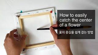 (109) Dip technique _ How to easily catch center of flower _ No silicone _ Designer Gemma77