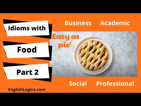 Idioms with Food in English (Part 2)