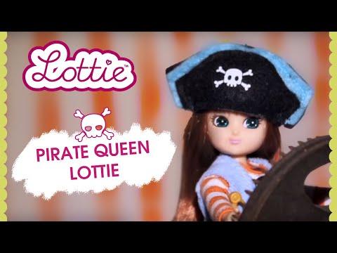 Lottie Кукла Королева Пиратов