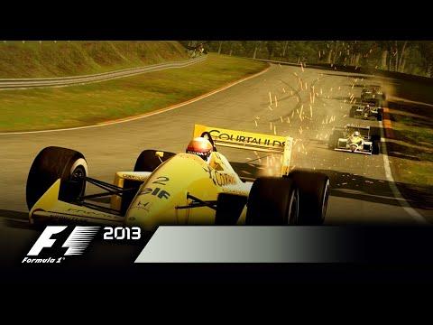 Jezdci a tratě z devadesátých let do F1 2013 jsou dostupné všem jako DLC