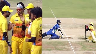 #Chennai Players Delighted With Wicket Loss Of #Bangalore Team After Their Best Efforts