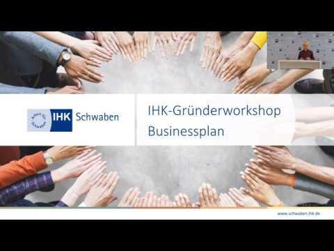 IHK Gründerworkshop Online: Businessplan 2/6