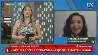 Liberan Al Hijo Del Chapo Guzman Y Se Desata Guerra Narco En México