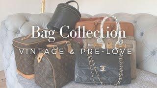 Meine Pre-Loved und Vintage Taschen | Louis Vuitton | Chanel | Hermès | Aigner
