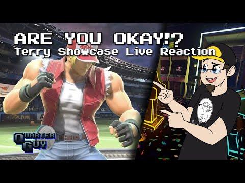 ARE YOU OKAY!? Terry Bogard Showcase Live Reaction!