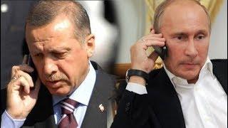 Путин поговорил с Эрдоганом