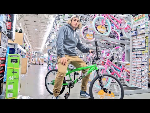 BUYING AN $80 WALMART BMX BIKE!