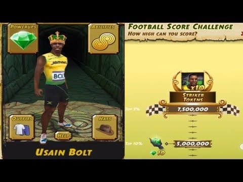 Temple Run 2 5th Anniversary All Maps Usain Bolt Android Gameplay