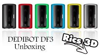 Dedibot DF3 Unboxing // Rics_3D // Der letzte Montagsstream