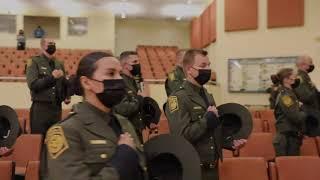 Border Patrol Academy Class 1138's Graduation