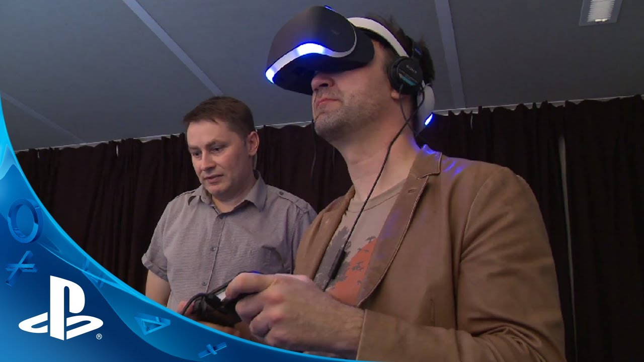 Project Morpheus: Experiencing PS4's Virtual Reality Prototype