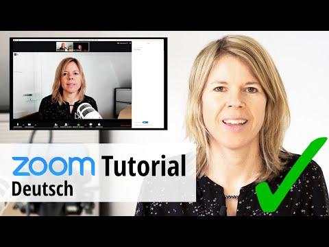 Zoom-Tutorial: so gelingen Deine Online-Meetings