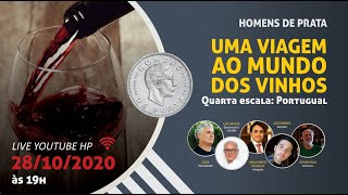 LIVE 15 – Uma viagem ao mundo dos vinhos. Quarta escala: Portugal