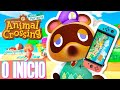 Animal Crossing : New Horizons O In cio gameplay Pt br