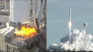 NG-13: Antares 230+ launches S.S. Robert H. Lawrence Cygnus