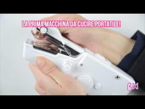 BIKI - Macchina da Cucire portatile