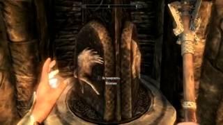The Elder Scrolls V Skyrim: Загадка двери на ветренном пике Skyrim.
