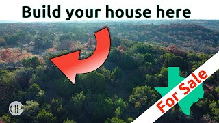 Land for sale in Texas - On a hilltop 12 acres!