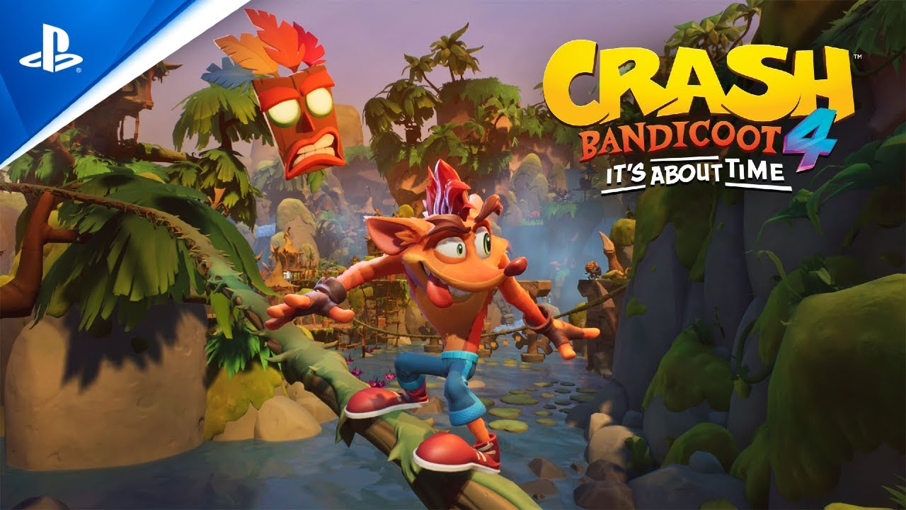 Crash Bandicoot 4: It's about time arrive sur PS4 le 2 octobre