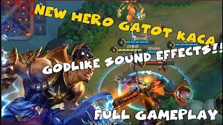 NEW HERO GATOTKACA CLEAR VOICE AND SOUND EFFECTS | FULL GAMEPLAY
