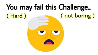 Watch this Video till end ( CHALLENGE )