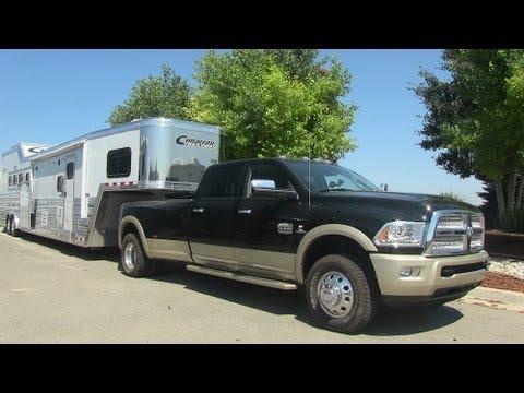 2013 Ram 3500 Laramie Longhorn Pickup & Horse Trailer Revealed