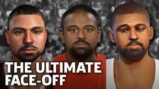 Face Scan Showdown - NBA 2K18 vs NBA LIVE 18