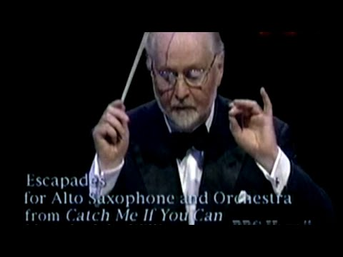 Escapades For Alto Saxophone And Orchestra From Catch Me If You Can composed by John Williams