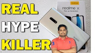 Realme X Unboxing and initial impressions with Camera Samples in Telugu