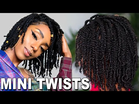 EASY STYLE FOR NATURAL HAIR GROWTH | MINI TWIST | PERFECT FOR ALL HAIR TYPES