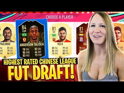 HIGHEST RATED CHINESE SUPER LEAGUE FUT DRAFT CHALLENGE | FIFA 19