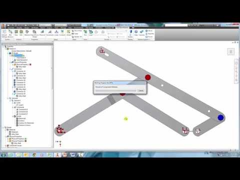 Nastran In CAD - Window Linkage
