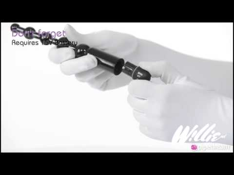 Anal Fantasy beginners power kralen vibrator bij Willie.nl