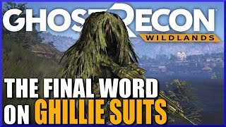 DO GHILLIE SUITS WORK? Ghost Recon Wildlands Ghillie Test