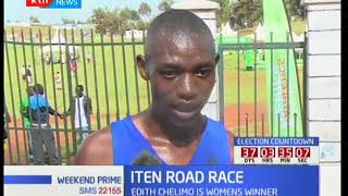 Jorum Lumbasi wins men's race, Iten Road Race